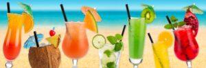 cocktail workshop beach